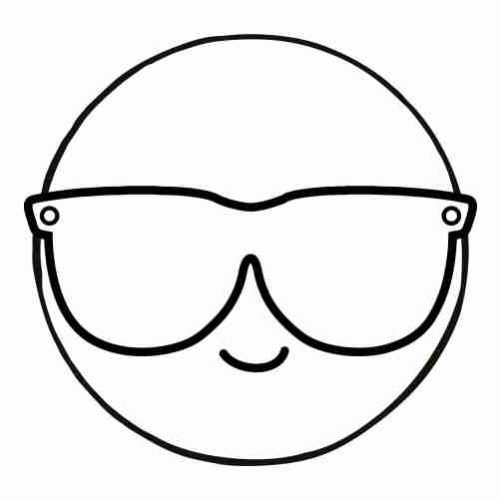 Cool emoji coloring pages for kids