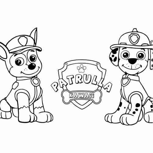 Paw Patrol Puppies Coloring Pages