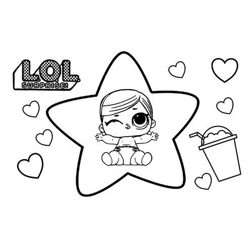 lil hops lol coloring book