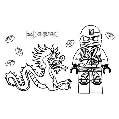 jay lego ninjago coloring book