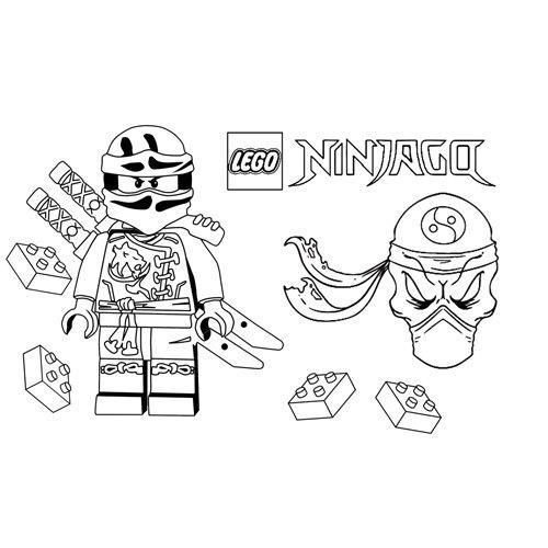 skeleton ninja lego ninjago coloring book