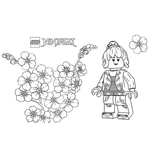 cute pixal lego ninjago for coloring