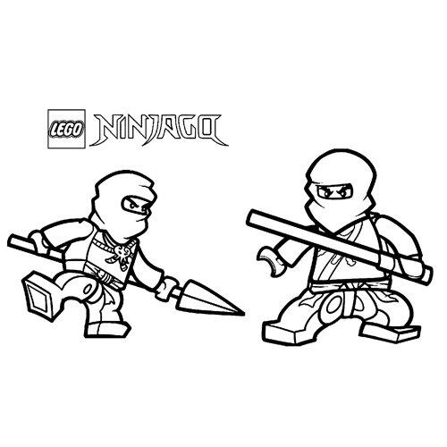 strong ninjas lego ninjago coloring book