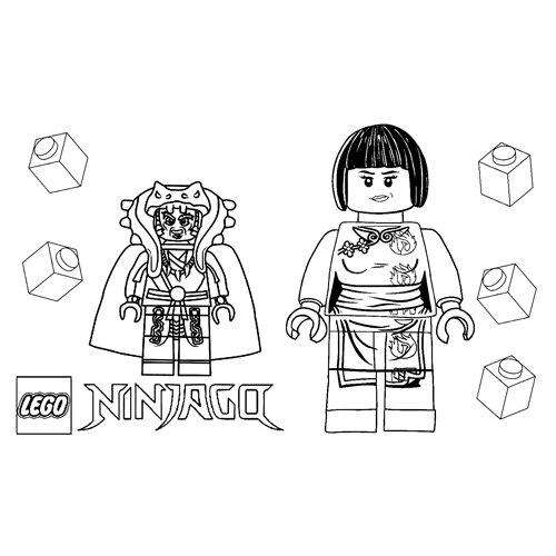 nya lego ninjago coloring book