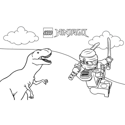 kai and the dinosaur coloring book
