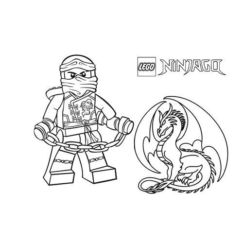 jay dragon spirit ninjago coloring book