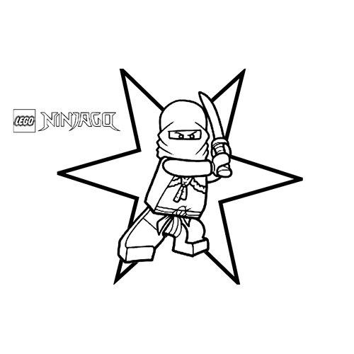 star floyd ninjago coloring book