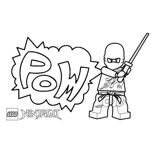 comics floyd ninjago coloring book