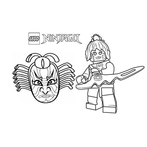 warrior pixal lego ninjago