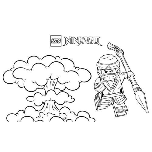 fight jay lego ninjago coloring book