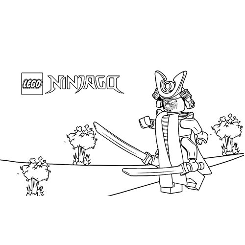 garmadon explotion ninjago coloring book