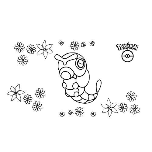pokemon cartepie coloring book