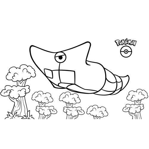 pokemon metapod coloring book
