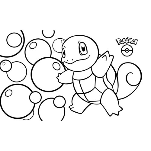 squirtle pokemon coloring book online