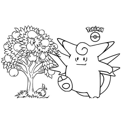 funny wigglytuff coloring book