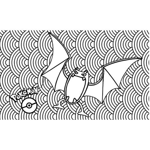 pokemon golbat coloring book