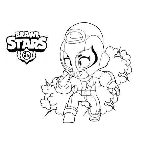super brawl stars coloring book