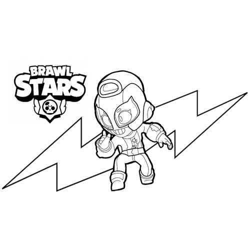 max brawl stars coloring book
