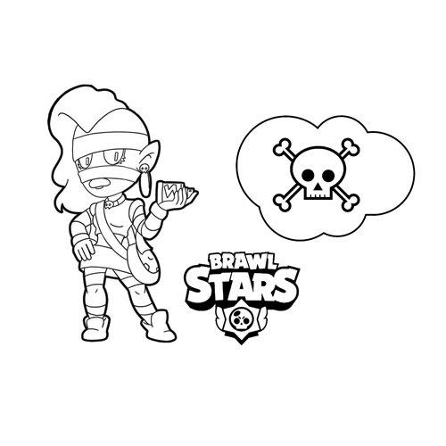 emz brawl stars coloring book