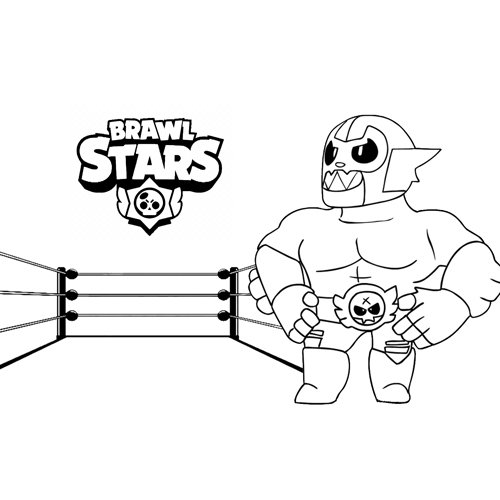 primo brawl stars coloring book