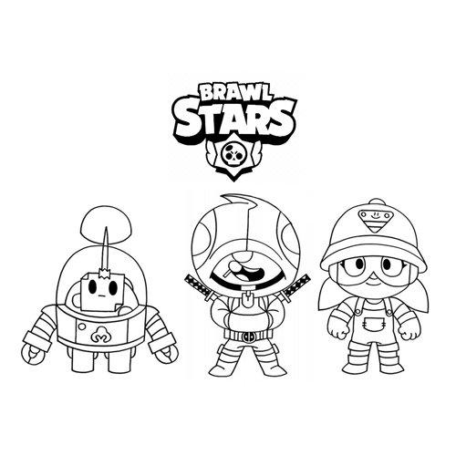 brawl stars team coloring book