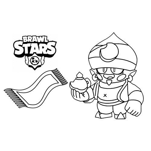 genius brawl stars coloring book