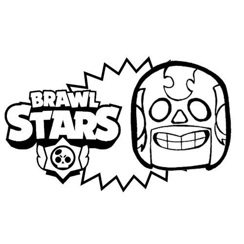 primo mask brawl stars coloring book
