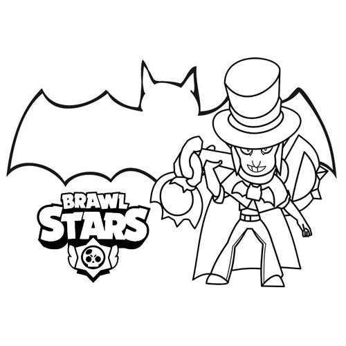 the mortis brawl stars coloring book