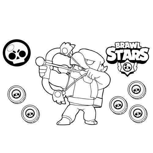 bo brawl stars coloring book
