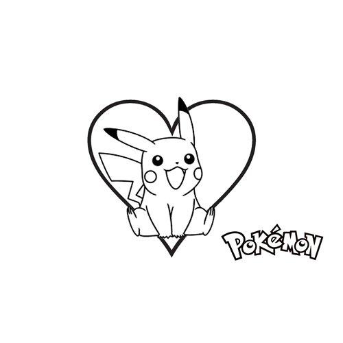 dear pikachu coloring book online