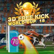 3d Free Kick WorldCup 18 online game