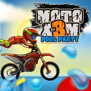 Moto X3 Pool Party online game
