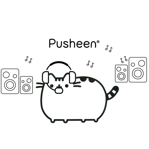 pusheen singer coloring book