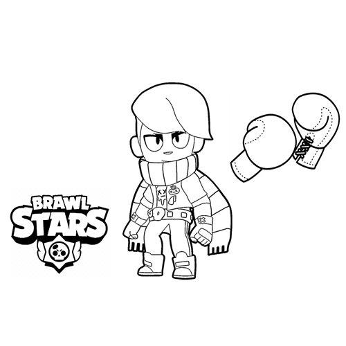 edgar brawl stars coloring book