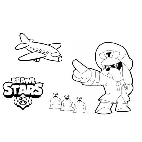 ruffs brawl stars coloring book
