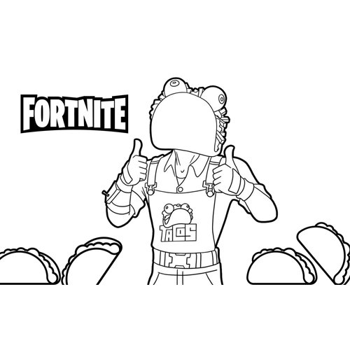 guaco fortnite coloring book