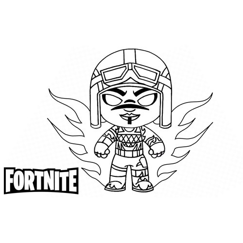 blade fortnite coloring book
