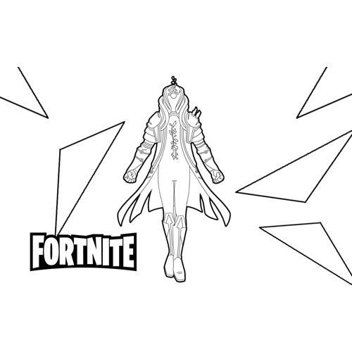 infinity fortnite coloring book