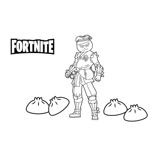 bao bros fortnite coloring book
